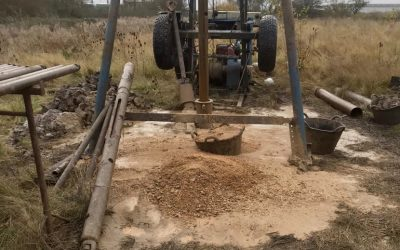 The Process of Water Borehole Drilling
